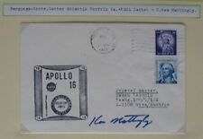 S1490) spaziale Apollo 16 Recovery Force ricevuta Norfolk 27.4.72 Ou Ken Mattingly