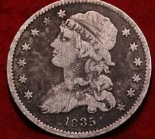 1835 Philadelphia Mint Silver Capped Bust Quarter