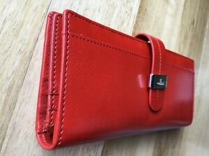 CELLINI Trifold Tab Wallet In Red (Brand New With Tags)