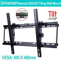 Universal Plasma LED LCD Tilting Flat Plasma TV Bracket Wall Mount 32-70 AU