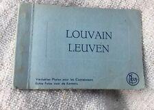 Vintage Brussels Small Souvenir Photo Album
