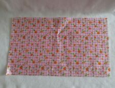 NEW! 2019 Barbie Horse Riding Doll Pink Gingham Check Picnic Blanket Tablecloth