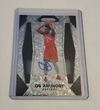 B14,532 - 2017-18 Panini Prizm Fast Break Disco Rookie Autograph OG Anunoby