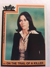 1977 Topps Charlie's Angels #137 On The Trail Of A Killer