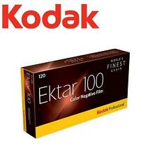 5 Rolls x KODAK Professional Ektar 100 ISO Color Negative 120 Medium Format Film