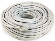 100Ft RJ-45 23AWG Cat-6 UTP Gigabit Ethernet Lan Network Gray Cable