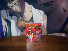 Domain of Murder - BRAND NEW - Anime DVD - US Manga 2004 Overstock item saw cut