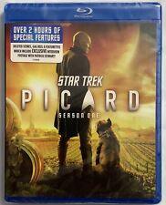 NEW STAR TREK PICARD SEASON ONE BLU RAY 3 DISC SET FREE WORLD WIDE SHIPPING BUY