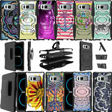 For Samsung Galaxy Note 8 N950 (2017) Case Holster Clip Kickstand Cover