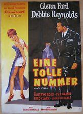 Filmplakat / movie poster  EA A1 Eine tolle Nummer  Glenn Ford , Debbie Reynolds