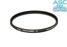 82 mm genuino KENKO REALPRO UV filtro sottile filtro e pulitore LENSPEN bonus