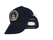 US Department of the Air Force Emblem Crest Coat of Arms Embroidered Hat Cap