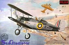 Gloster Sea Gladiator (RAF x2 sobre Malta & FAA x6 marcas) #405 1/48 Roden