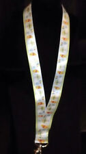 DISNEY PIN LANYARD WINNIE THE POOH PARK CLOUDS BIRDHOUSE BLUE 37 IN ADULT/CHILD