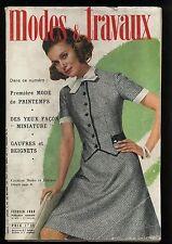 modes et travaux  818 fevrier 1969 -