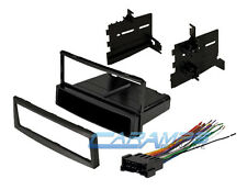 2004-2006 SPECTRA CAR STEREO DASH INSTALLATION TRIM KIT WITH WIRING HARNESS