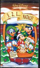 3, 2, 1... è Natale! (2002) VHS Disney Ed. VS 4961 del 2002