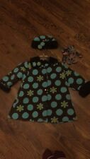Corky And Company Coat Girls Size 6.         3 pieces