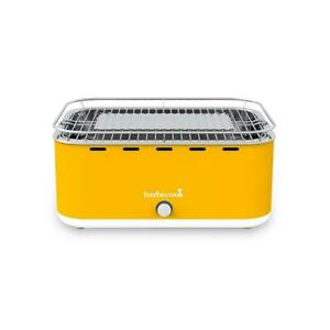 Barbecook Carlo Yellow Portable Charcoal Barbecue