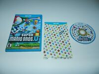 New Super Mario Bros. U Nintendo Wii U Game Complete CIB Tested