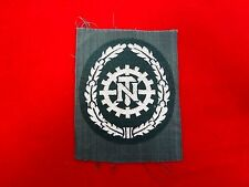 Original German Army WWII BEVO TENO EM Former Member Sleeve Patch Badge