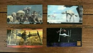 Star Wars Widevision Topps Card Laser Cut Movie Empire 1997 Trilogy Special Ed