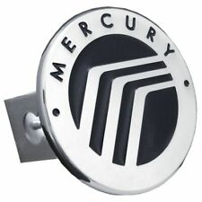 "Mercury Chrome Stainless Steel 1.25"" Trailer Tow Hitch Cover"