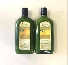 2 Avalon Organics Clarifying Conditioner Lemon w/Shea Butter&Babassu Oil-11oz ea