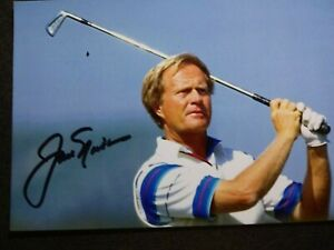 JACK NICKLAUS Authentic Hand Signed Autograph 4X6 Photo - PGA GOLF LEGEND