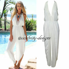 Women's Solid Chiffon Jumpsuits, Rompers & Playsuits
