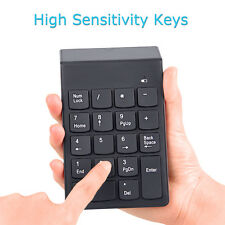 2 in 1 2.4GHz Wireless Bluetooth USB Numeric Keypad Numpad Number 18 keys PC