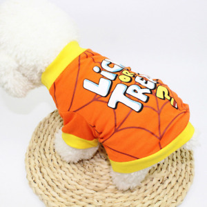 New Halloween Pet Clothes Dog Clothing Cat Hoodies Costume Party Outfits Funny