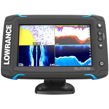Lowrance Elite-7 Ti Touch Combo with Totalscan Transom Mount