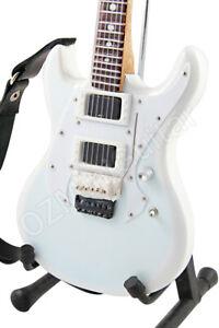 Miniature Guitar RAMMSTEIN White & Strap