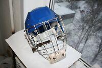 Vintage Soviet Russian Hockey goalie helmet Face Mask 1980 s