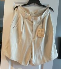 Tommy Bahama Beige Ladies Silk Golf Shorts  'Tee Time'  Size 14 NWT $68