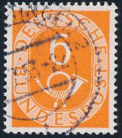 BUND, MiNr. 126 Z, gestempelt, gepr. Schlegel, Mi. 200,-