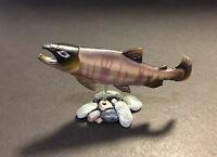 RARE Kaiyodo Yujin Japanese Freshwater Chum Salmon Fish Figure