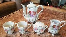Vintage Victorian Porcelain Child's Tea Set