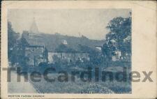 MERTON PARK Parish Church Postcard nr London LONDON Anon