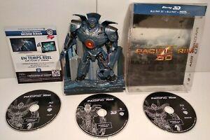 Pacific Rim 3D Blu Ray Limited Edition Robot Pack - Zone B - Très bon état