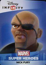 Disney Infinity 2.0 Marvel Super Heroes Avengers Nick Fury Web Code Card