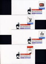 US 2011 Pioneers Industrial Design (4546a-l) . DCP Cancel .USPS First Day Covers