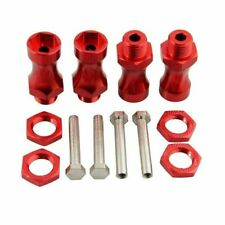 4PCS 12mm To 17mm Wheel Hex Hub 30mm Extension Adapter RC 1:10 Off-Road Truck