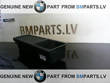 NEW GENUINE BMW 3 E46 CENTRE CONSOLE TRAY STORAGE INSERT+COVER BLACK 7038323