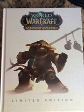 World of Warcraft Limited Edition Mists of Pandaria Strategy Guide Hardcover