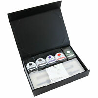 Monteverde Monza Fountain Pen Gift Set in Crystal Clear with Ink& Pen Flush - B