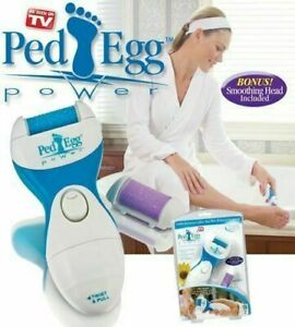 Ped Egg Cordless Electric Callus Remover AS SEEN ON TV - SHIP OUT NEXT DAY-NEW