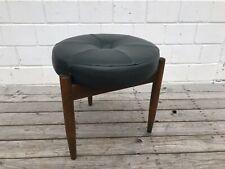 Vintage Danish Modern Design Hocker Mid-Century Hans Olsen Style Sitzhocker