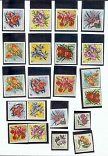 BURUNDI: 1960'S-1970's STAMP COLLECTION - ALL FLORAL - 27 STAMPS